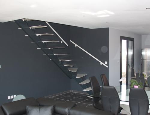 Escaliers-escalier tout acier