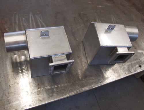Industrie/chaudronnerie-IND / echapement air eau inox