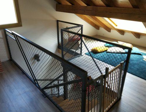 Rambarde acier escalier 2